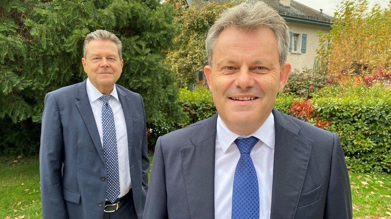 Iwan Willisch (UBS) succède à Pascal Perruchoud (BCVs) à la tête de l'Association valaisanne des banques.