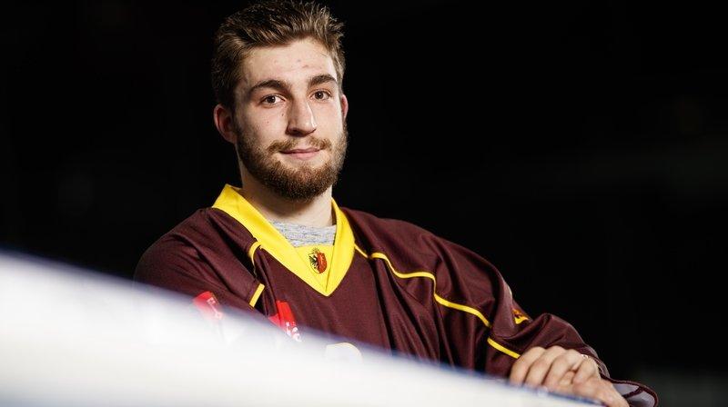 Hockey sur glace: Mathieu Vouillamoz, le Nendard qui a un patin en LNA