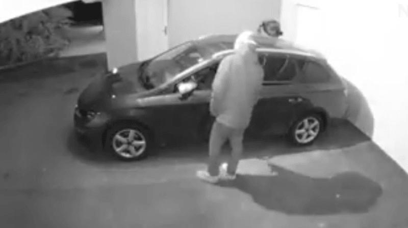 Fully: un voleur trahi par des caméras de surveillance
