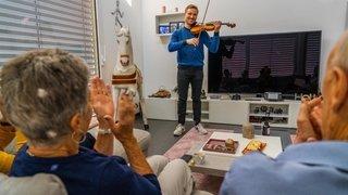 Coronavirus: un musicien dans mon salon