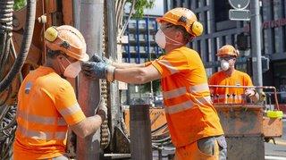 Coronavirus: Unia dénonce des «abus»sur les chantiers