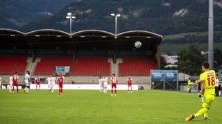 Football: la Super League continue à huis clos