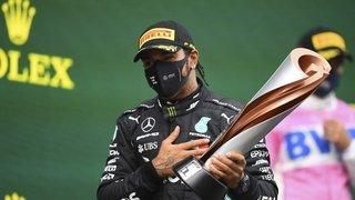 Automobilisme - Formule 1: Hamilton décroche son 7e titre et égale Schumacher