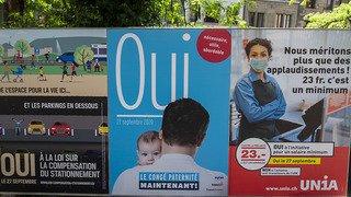 Genève: un salaire minimum sera instauré dès le 1ernovembre