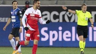 Football: Saleh Chihadeh se bat pour un maillot de titulaire au FC Thoune