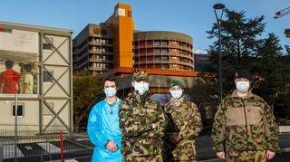 Coronavirus: l'armée fait son retour dans les hôpitaux du Valais