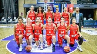 Basket: mission accomplie pour l'équipe de Suisse et ses quatre Valaisannes