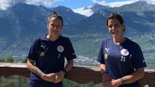 Les Valaisannes du Servette FC Chênois, Valérie Gillioz et Maeva Sarrasin, de la Coupe suisse à la Ligue des champions