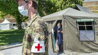 Coronavirus: le Valais appelle Berne et l'armée à la rescousse