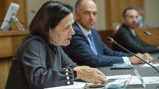 Coronavirus: peu de critiques politiques sur la gestion de crise du Conseil d'Etat valaisan