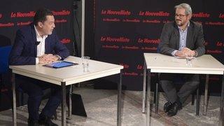 Présidence de Saint-Gingolph: notre duel filmé entre Werner Grange et Damien Roch