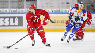 Hockey: Nathan Vouardoux s'engage avec Rapperswil