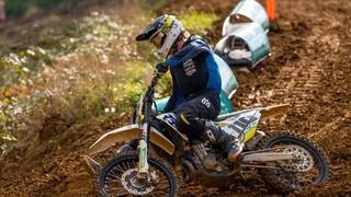 Motocross: le Valaisan Nicolas Bender retrouve le podium du championnat suisse