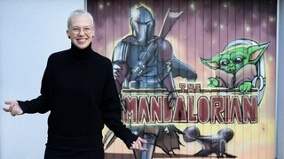 «The Mandalorian»: un graffiti surprise pour la chanteuse haut-valaisanne Stefanie Heinzmann