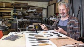 Nos artisans ont du talent: à Vollèges, la passion des couteaux d'Yves Moulin