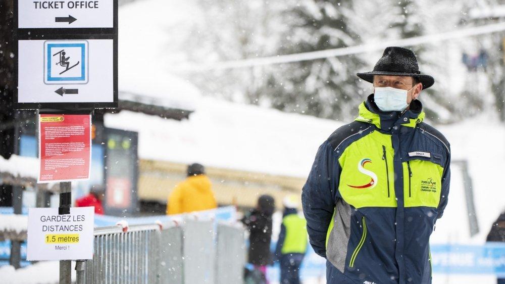 Aux Portes du Soleil Suisse, près de 60 personnes travaillent pour le respect des mesures sanitaires.