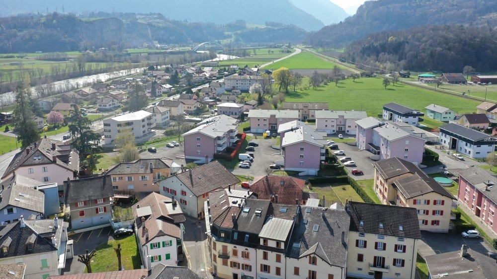 Une centaine de nouveaux logements ont été créés en 2020 à Massongex.