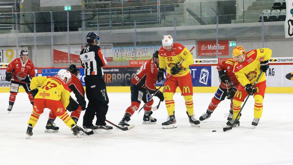 Le trio Rémy Rimann, Arnaud Montandon et Guillaume Asselin est l'un des plus en vue en Swiss League.