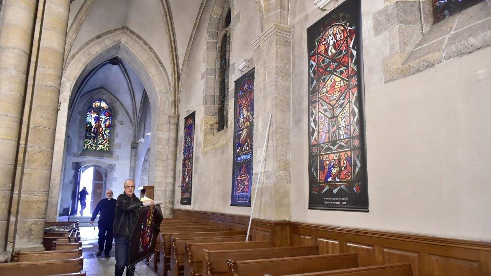 En 2017, la cathédrale de Sion avait accueilli des oeuvres de l'artiste valaisan Paul Monnier. Elle restera vide cette année.