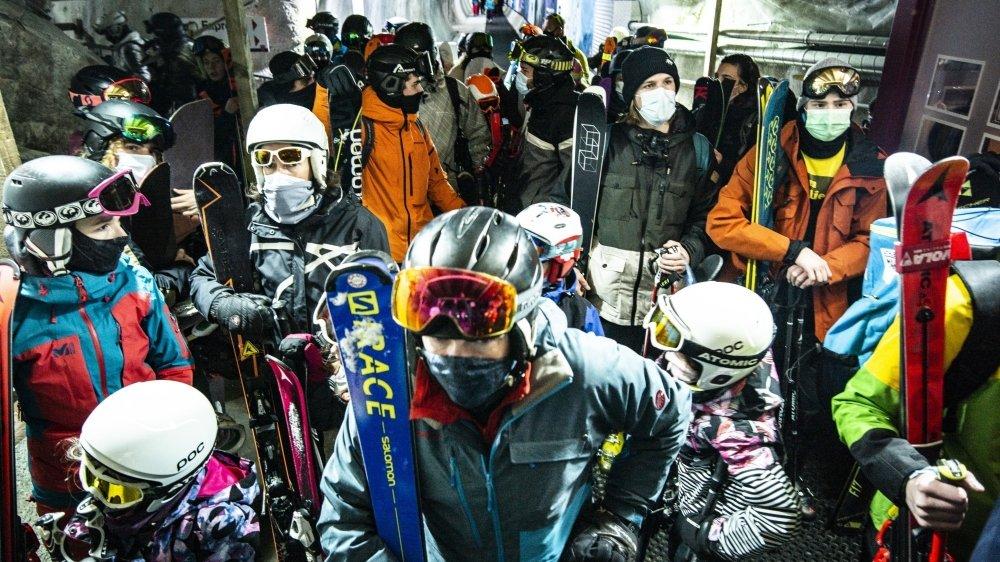 Le Valais peut s'appuyer sur les stations ouvertes, comme Saas-Fee, pour améliorer son plan de protection.