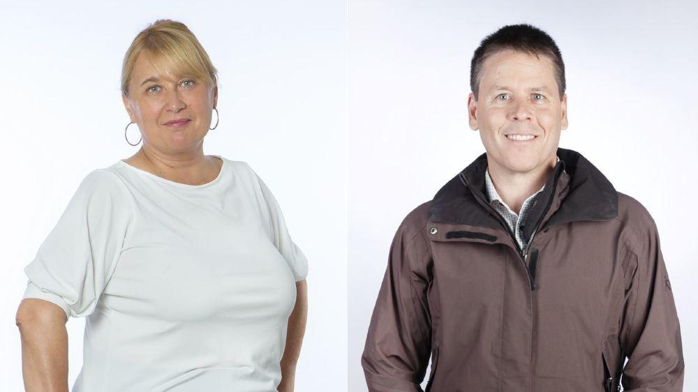 Maryse Bétrisey et Pierre-Armand Dussex rejoignent les neuf autres élus verts au Conseil général de Sierre.