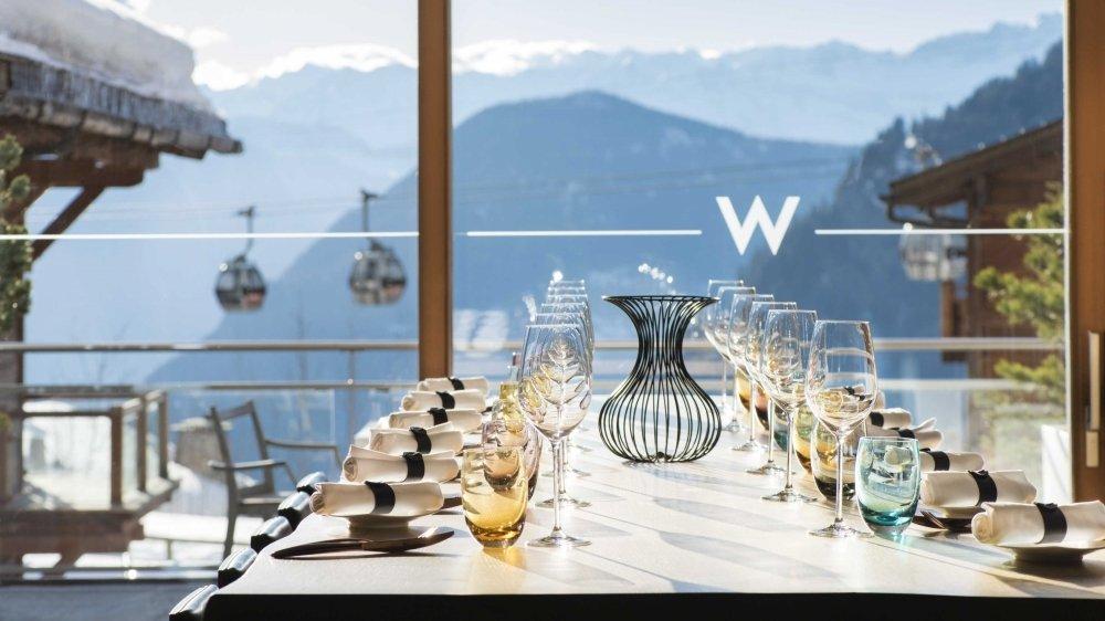 Le W de Verbier continue de tutoyer les sommets. Que ce soit pour ses prestations hôtelières ou sa cuisine.
