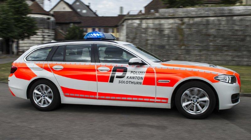 Soleure: un transporteur d'argent attaqué à Olten