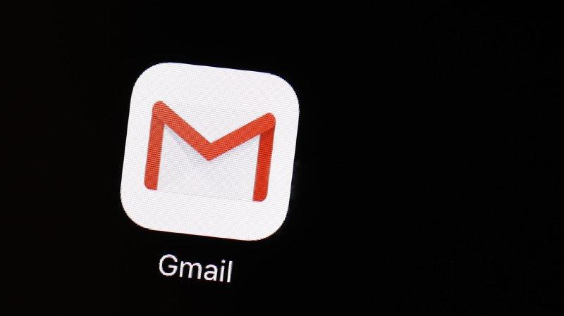 Technologie: la messagerie Gmail de Google de nouveau perturbée
