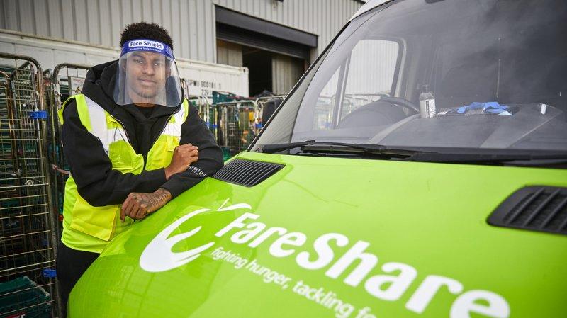 Marcus Rashford, le footballeur qui lutte contre les inégalités au Royaume-Uni