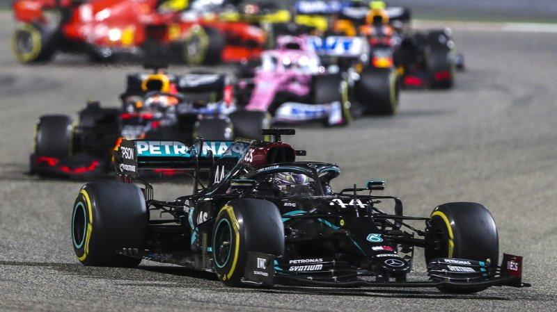 Formule 1 – GP de Barheïn: Hamilton remporte une course marquée par l'accident de Grosjean