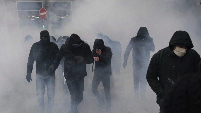 France: heurts lors des manifestations «pour les droits sociaux et la liberté»
