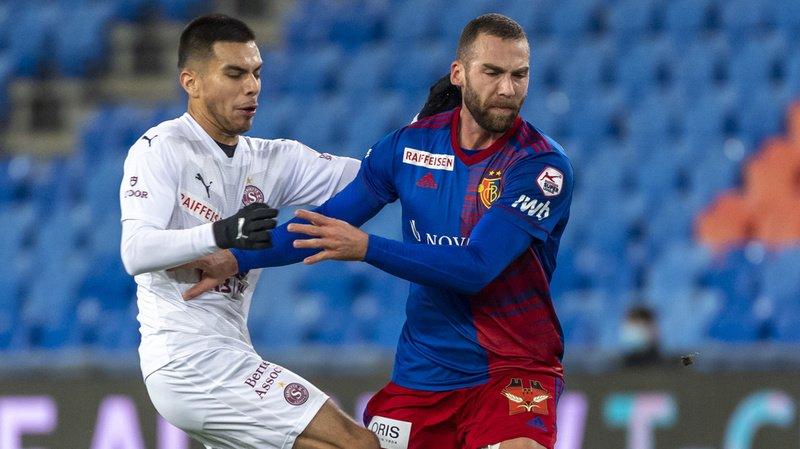 Super League: muet en attaque, Servette rentre de Bâle sans rien