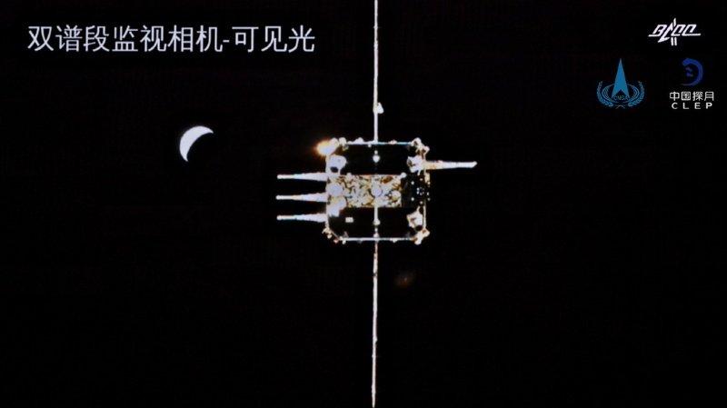Espace: la sonde chinoise Chang'e 5 revient sur terre avec des échantillons lunaires