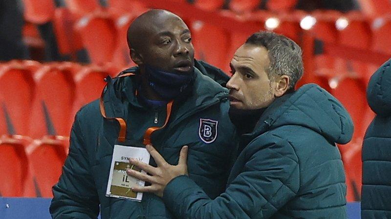 Football - Ligue des champions: le match PSG - Basaksehir interrompu pour propos racistes supposés