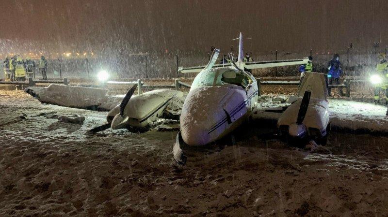 Pilote suisse blessé dans un accident d'avionà Annecy