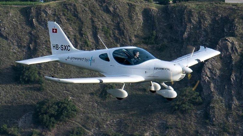 20millions pour l'avion électrique développé à Sion