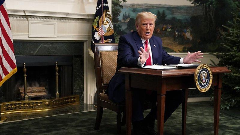 Présidentielle américaine: Trump fait un pas de plus vers l'acceptation de sa défaite