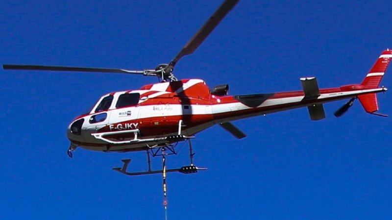 France: cinq morts et un blessé dans le crash d'un hélicoptère en Savoie