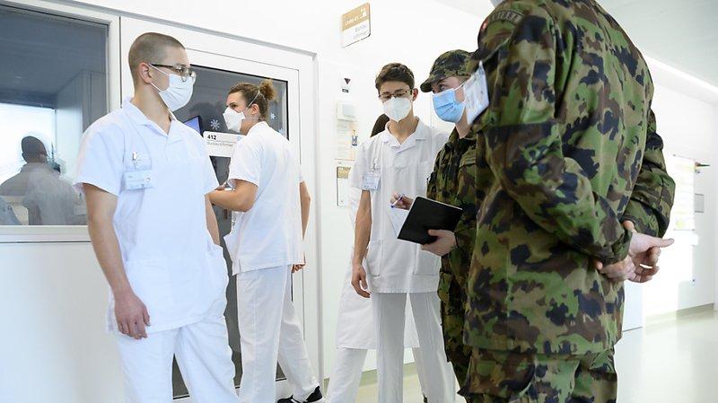 Coronavirus: l'armée viendra de nouveau en aide aux hôpitaux