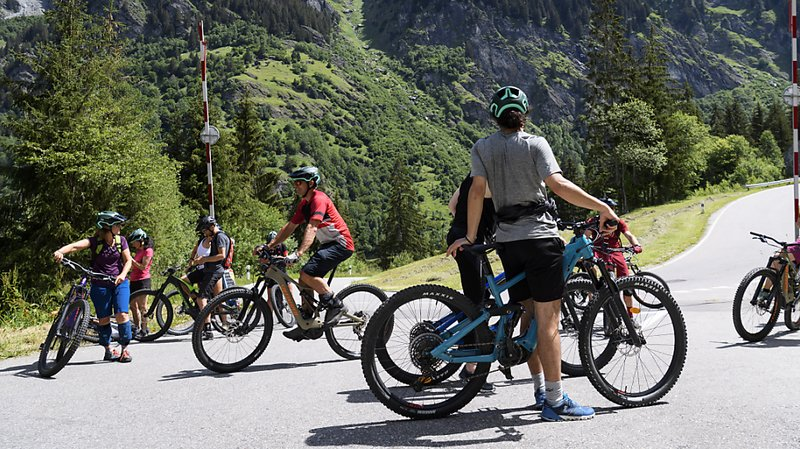 Les e-bikes sont particulièrement appréciés en montagne (illustration).