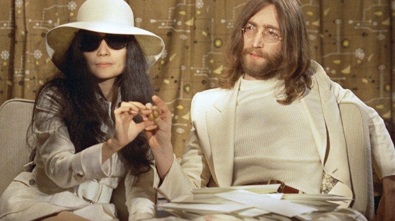 Musique: Yoko Ono a rendu hommage à John Lennon, 40 ans après son assassinat