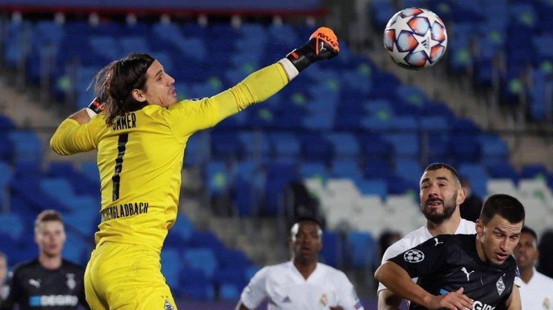 Football - Ligue des champions: Gladbach a craqué à Madrid, mais passe quand même en 8es