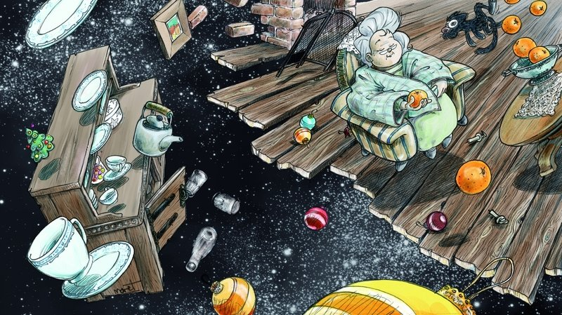 Ses souvenirs sont sa magie, un conte de Noël de Stéphanie Schwitter Glassey