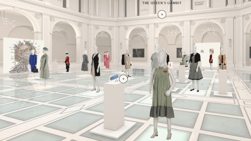 «La Reine et la Couronne»: exposition virtuelle des costumes de séries Netflix au Brooklyn Museum