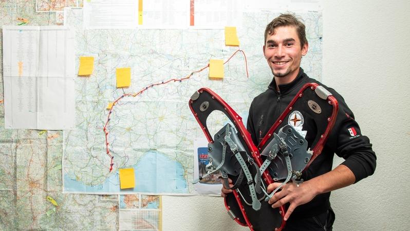 Le Valaisan Florian Antille aiguisera sa quête d'aventure à travers les Alpes