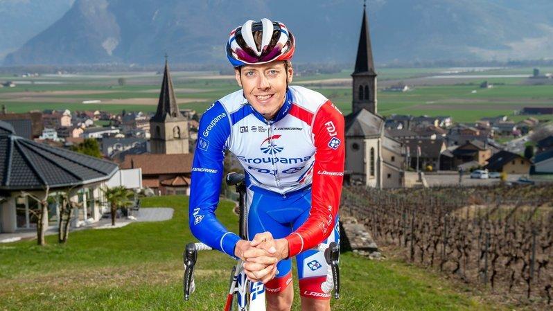 Cyclisme: Kilian Frankiny quitte Groupama-FDJ et s'engage chez Qhubeka Assos