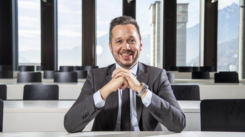 Gaëtan Cherix: «Une nouvelle filière en informatique et systèmes de communication sera créée à la HEI»