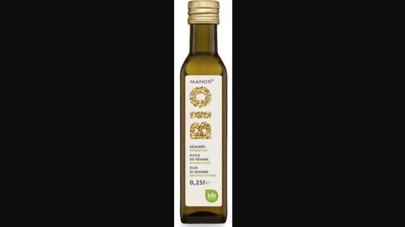 Rappel de produit: l'huile de sésame «Manor Bio» dangereuse pour la santé