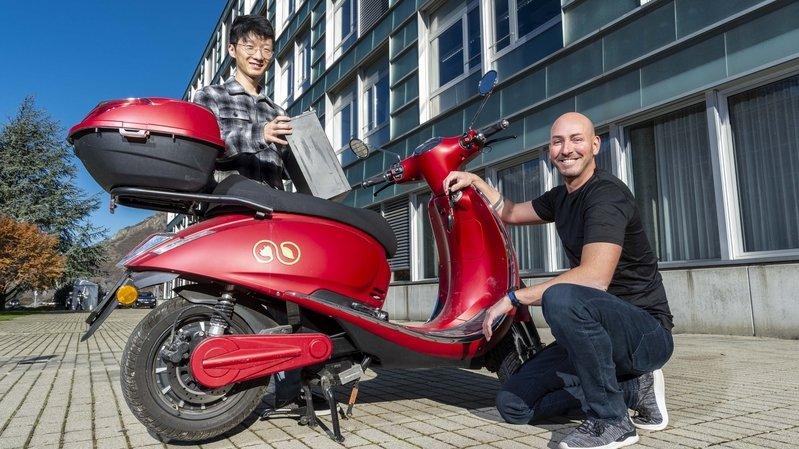 A Martigny, l'Idiap développe un scooter électrique intelligent