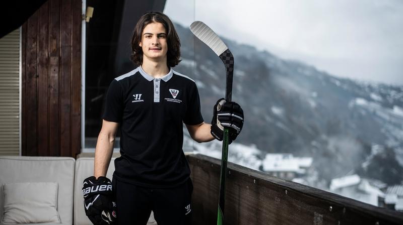 Hockey: l'exil, porte de sortie de Matteo Palmisano pour réussir
